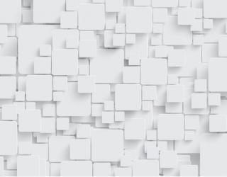 Фотообои Стена из обьемных прямоугольников 22914