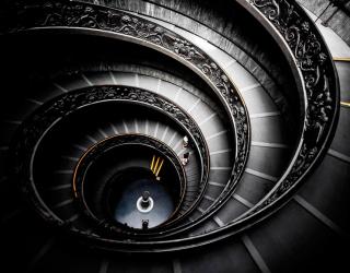 3д фотообои Лестница 2494