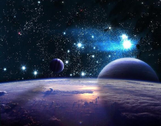 Фотообои Звездные планеты а146