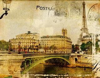 Фотообои Мост, Париж 3025