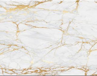 Фотообои Текстура светлого камня с золотом 22831