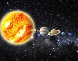 Фотообои Планеты солнечной системы 22595