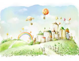 Фотообои Воздушные шары 7899
