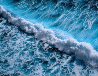 Фотообои Морские волны 26128