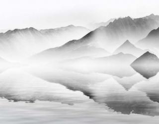 Фотообои Туманные горы 22414