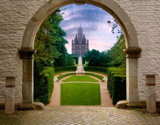 Фотообои Вид на замок 1338