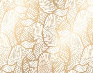 Фотообои Золотые листья 22432