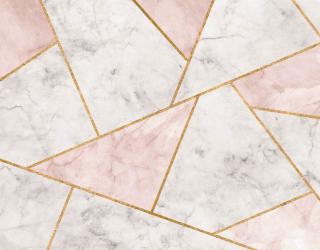 Фотообои Мраморные треугольники 29241