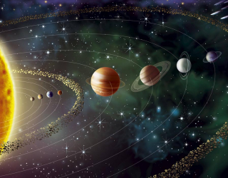 Фотообои Планеты солнечной системы 22225