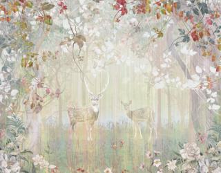 Фотообои Дизайнерский лес 24341