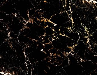 Фотообои Чёрный мрамор с золотом 27631