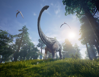 Фотообои динозавр 21024