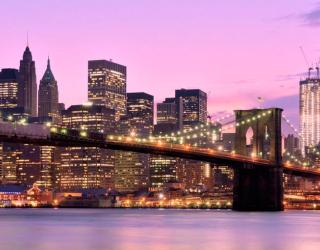 Фотообои Зачарованный  мост Нью-Йорка 7605