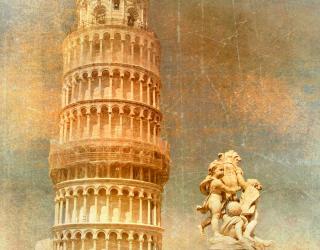 Фотообои Пизанская башня, Италия 4621