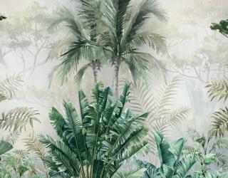 Фотообои Зеленые джунгли 24281