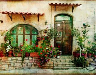 Фотообои Старинный двори 10394