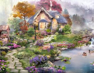 Фотообои Волшебный домик 22218