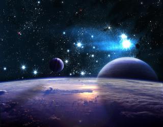 Фотообои Земля из космоса и планеты 20593