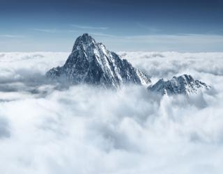 Фотообои Туманные горы 22583