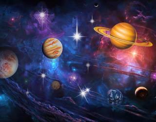 Фотообои Бесконечный космос 29199