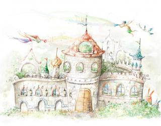 Фотообои Сказочный замок 4732