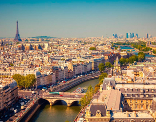 Фотообои Париж 13221