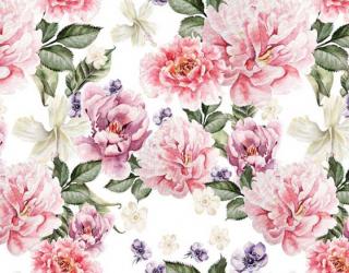 Фотообои Цветы в стиле прованс 22438