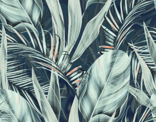 Фотообои Тропический принт 22757