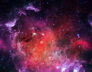 Фотообои Космическое небо 25507