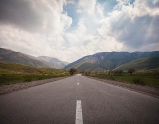 Фотообои Дорога в горах 23151