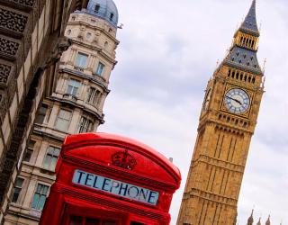 Фотообои Лондон 5874