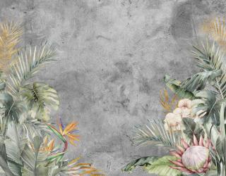 Фотообои Тропические цветы 27742