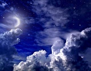 Фотообои Космическое небо 26070