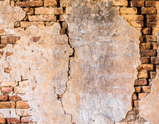 Фотообои Коричневая вертикальная стена 20245