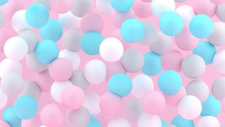 Фотообои Разноцветные шары