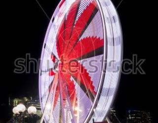Фотообои Чертово колесо 454743313
