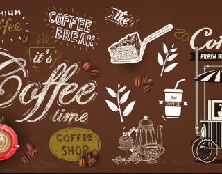 Фотообои Кофейная тематика 28021