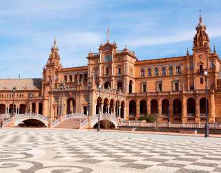 Фотообои Площадь в Испании 0232