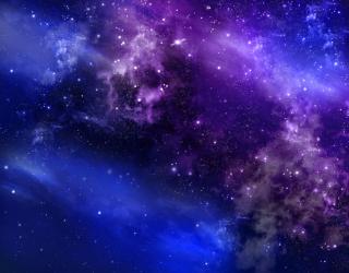 Фотообои Звездный космос 22704