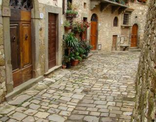 Фотообои Старая улочка 11209