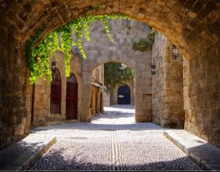 Фотообои Арка в старом городе 13810