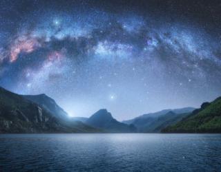Фотообои Звездное небо 25288