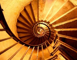 3д фотообои Лестница 5212