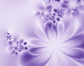 Фотообои Цветы на шелке 20302