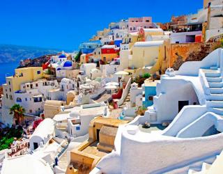 Фотообои о. Санторини, Греция 7787