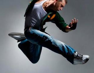 Фотообои Спортивный танцор 4769