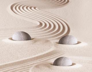 Фотообои Камень и песок 3д 18410