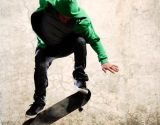 Фотообои Скейтбордист 4684