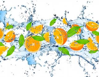 Фотообои в кухню Апельсин 8699