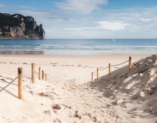 Фотообои Берег из белого песка 20839